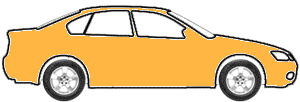 Wheatland Yellow  touch up paint for 1990 GMC Suburban