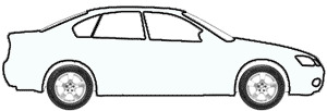 Windsor White touch up paint for 1987 Mitsubishi Two-Tone