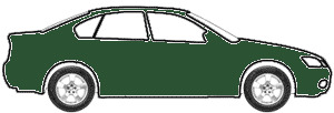 Woodland Green Metallic  touch up paint for 1999 Mercury Villager