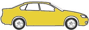 Yellow touch up paint for 1975 Volkswagen Sedan