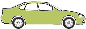 Yellow Green Metallic  touch up paint for 2004 Daewoo Tacuma