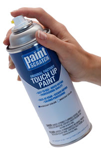 Picture of a Suzuki-Motorcycle Spray Paint Ready for Suzuki-Motorcycle Touch Up!