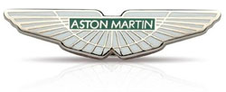 Logo for Aston-Martin. Aston-Martin Spray Paint Are Sold By PaintScratch.com.