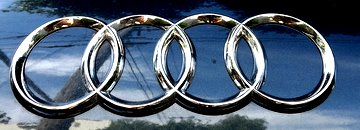 Audi Logo. Buy Audi Spray Paint Here.