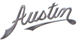 Austin Logo. Austin Spray Paint and Accessories Are Sold By PaintScratch.com.