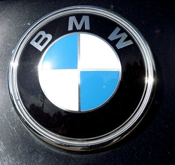 BMW Logo. Buy a BMW Touch Up Paint Pen Here.