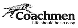 Logo for Coachmen-RV. Coachmen-RV Spray Paint From PaintScratch.com.