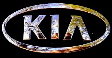 The Kia Logo. PaintScratch Sells Kia Touch Up Paint Pens.