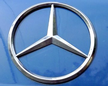 Mercedes-Benz Logo. Buy a Mercedes-Benz Touch Up Paint Pen Here.