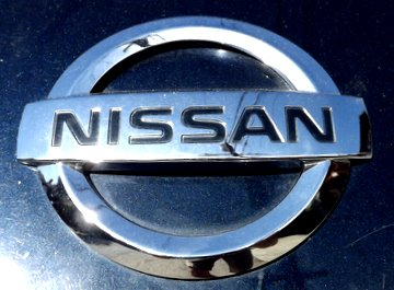 Nissan Logo. Buy a Nissan Touch Up Paint Pen Here.