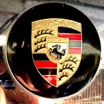 The Porsche Logo. PaintScratch Sells Porsche Touch Up Paint Pens.