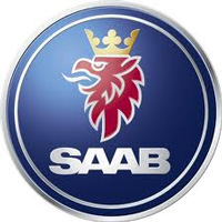 Saab Logo. Saab Spray Paint and Accessories Sold By Paint Scratch.
