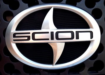 Scion Logo. Scion Spray Paint Sold By PaintScratch.com.